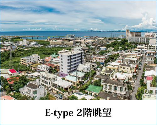 E-type 2階眺望